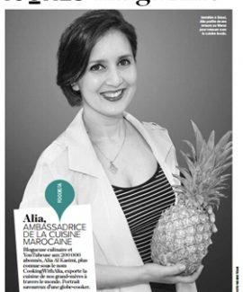 Alia featured in Icones Magazine