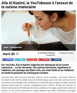 Alia featured in TelQuel