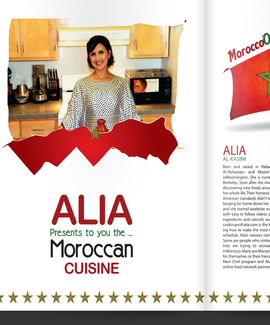 CookingWithAlia featured in pages 6-17