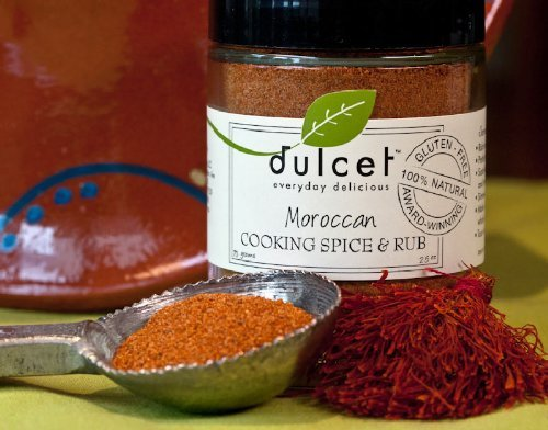 Dulcet Moroccan Cooking Spice & Rub 2.5 Oz